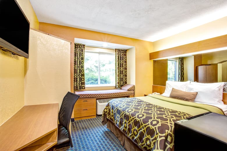 Guest Room At The Microtel Inn Suites By Wyndham Newport News Airport In