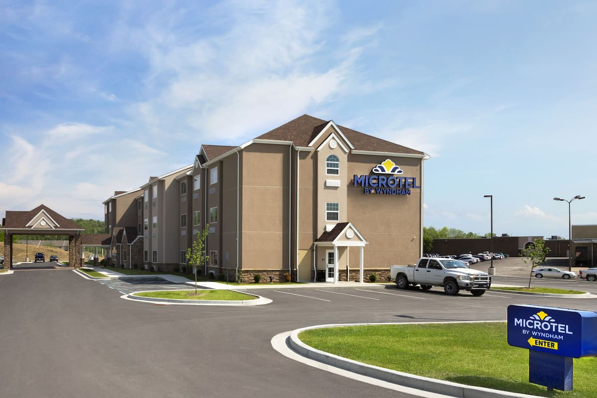 Exterior Of Microtel Inn Suites By Wyndham Fairmont Hotel In West Virginia