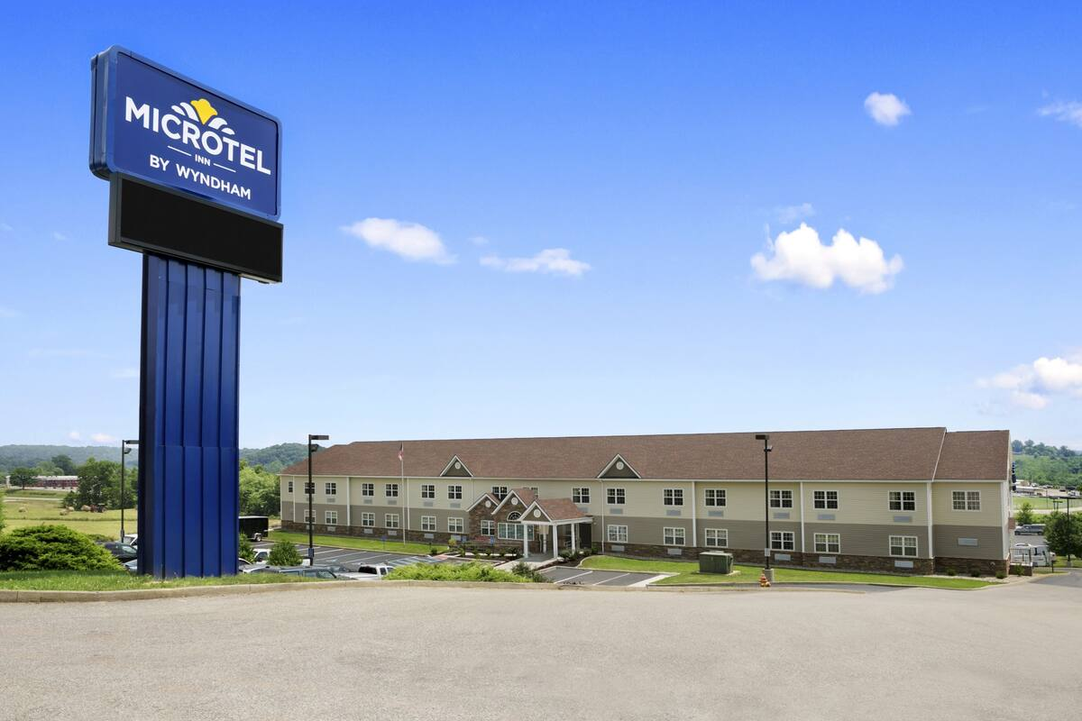 Exterior Of Microtel Inn Suites By Wyndham Mineral Wells Parkersburg Hotel In