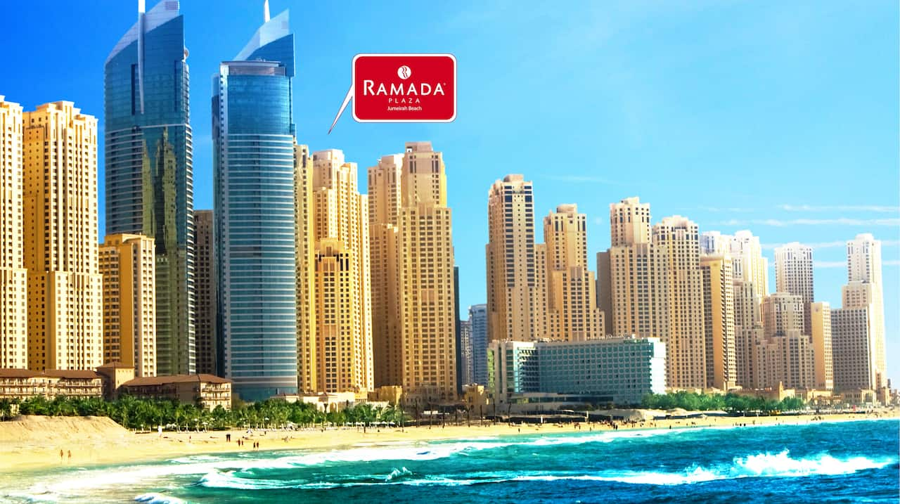 Ramada Plaza Jumeirah Beach in Dubai, United Arab Emirates