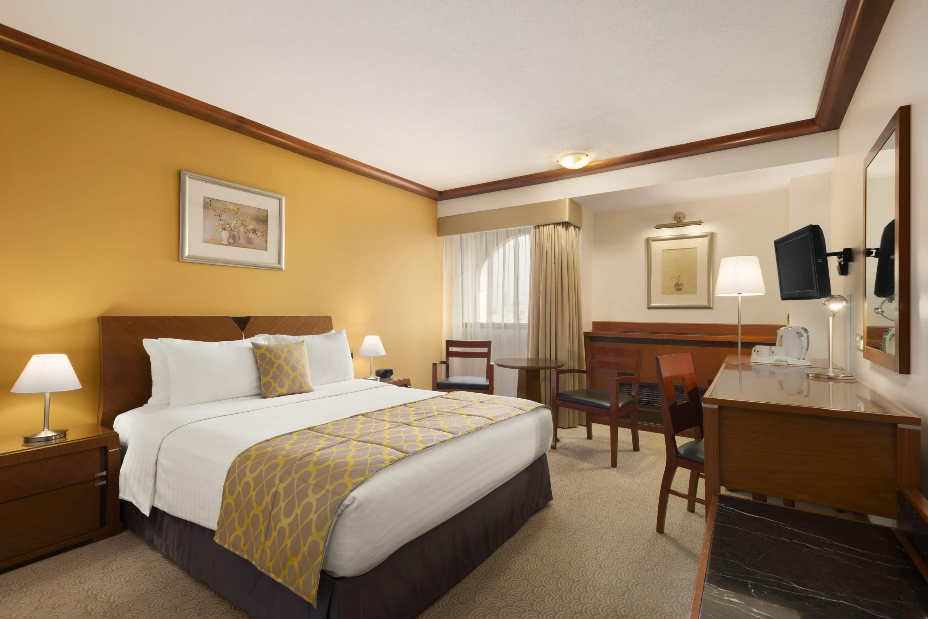 Guest room at the Ramada Hotel Bahrain in Manama, Other than US/Canada