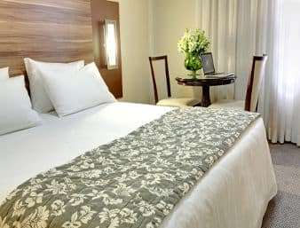 at the Ramada Hotel Americana in Americana, Brazil
