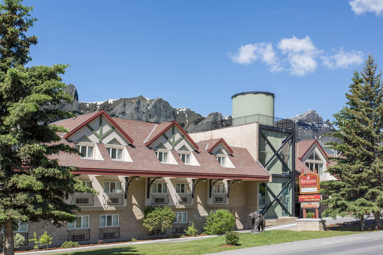 at the Ramada Canmore in Canmore, Alberta