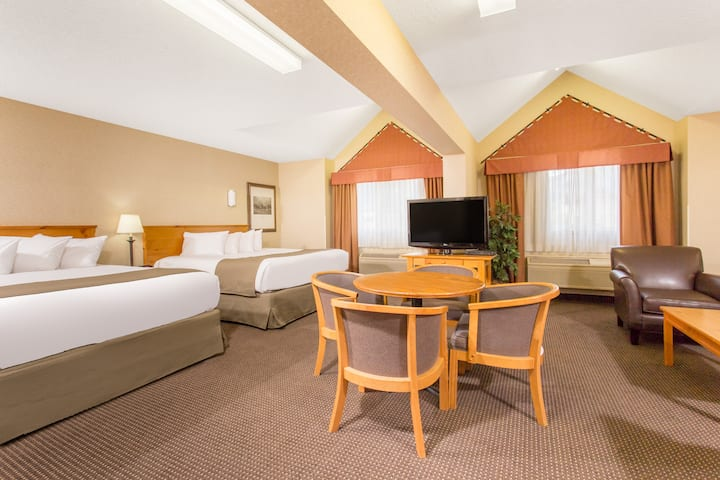 Ramada Canmore suite in Canmore, Alberta