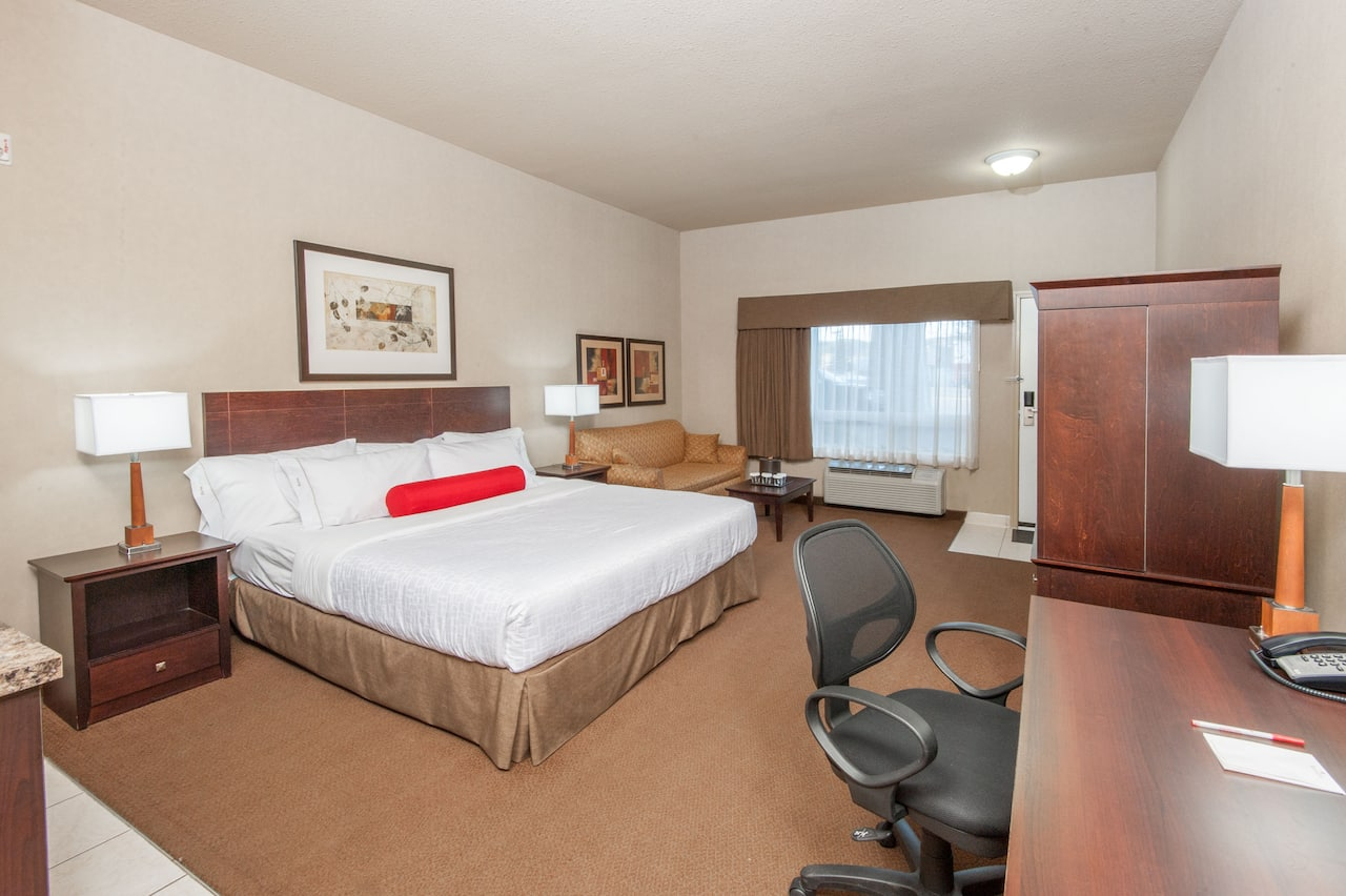 at the Ramada Drumheller Hotel & Suites in Drumheller, Alberta