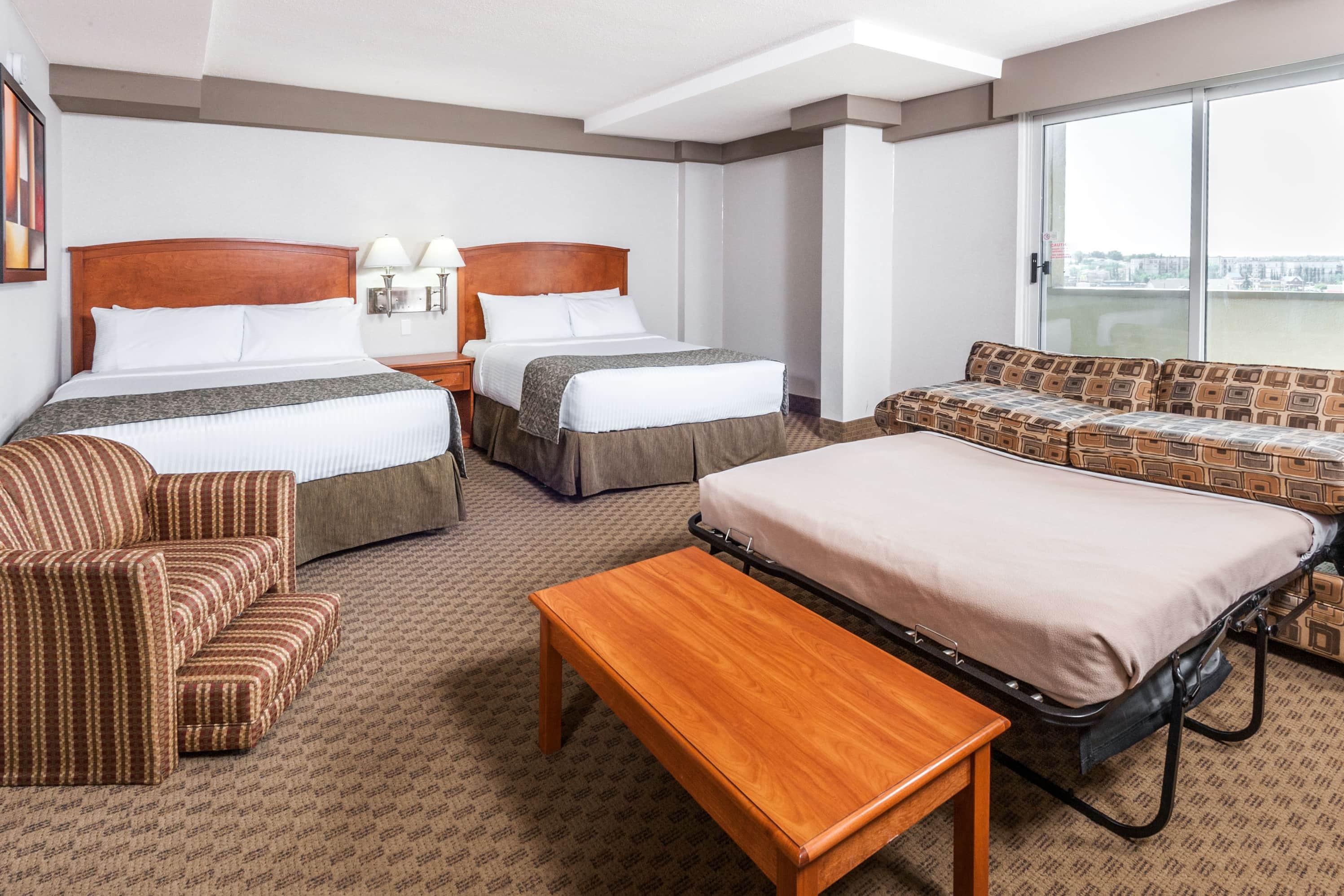 Ramada Edmonton South suite in Edmonton, Alberta
