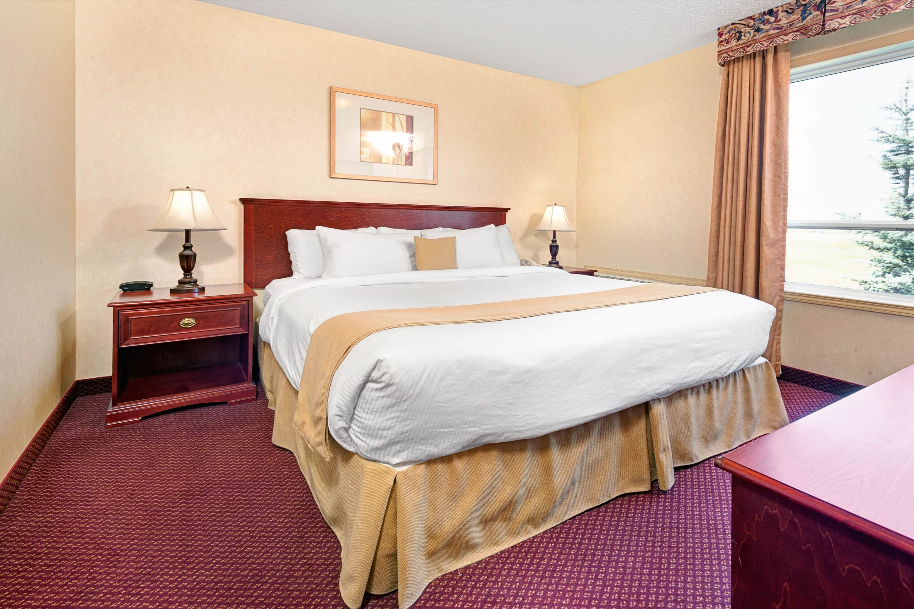 Ramada Edmonton International Airport suite in Leduc, Alberta