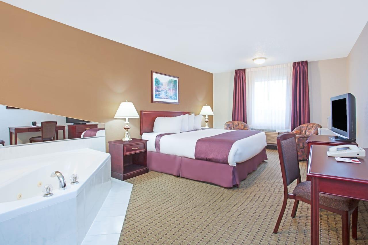 at the Ramada Red Deer Hotel and Suites in Red Deer, Alberta