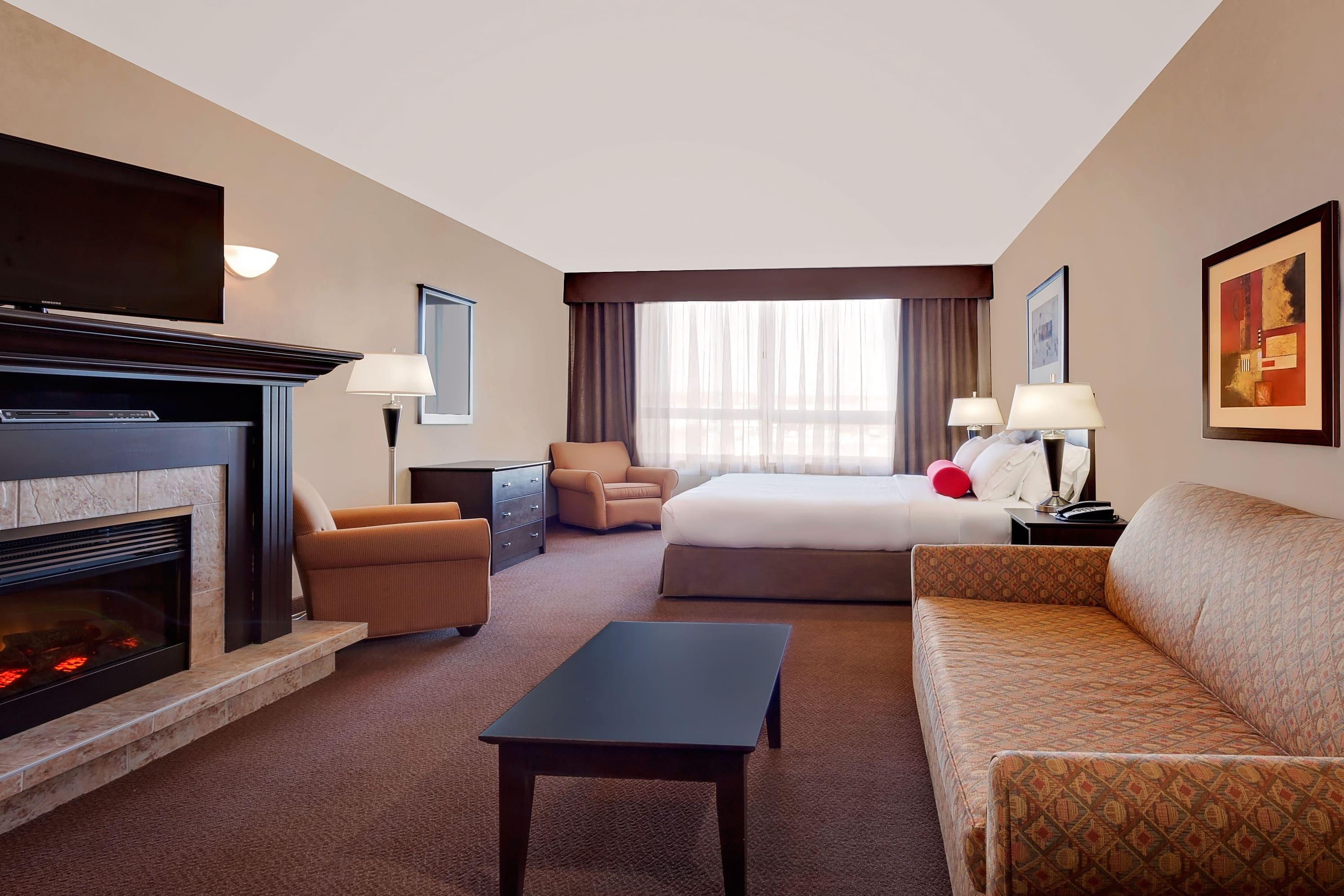 Ramada Stettler suite in Stettler, Alberta