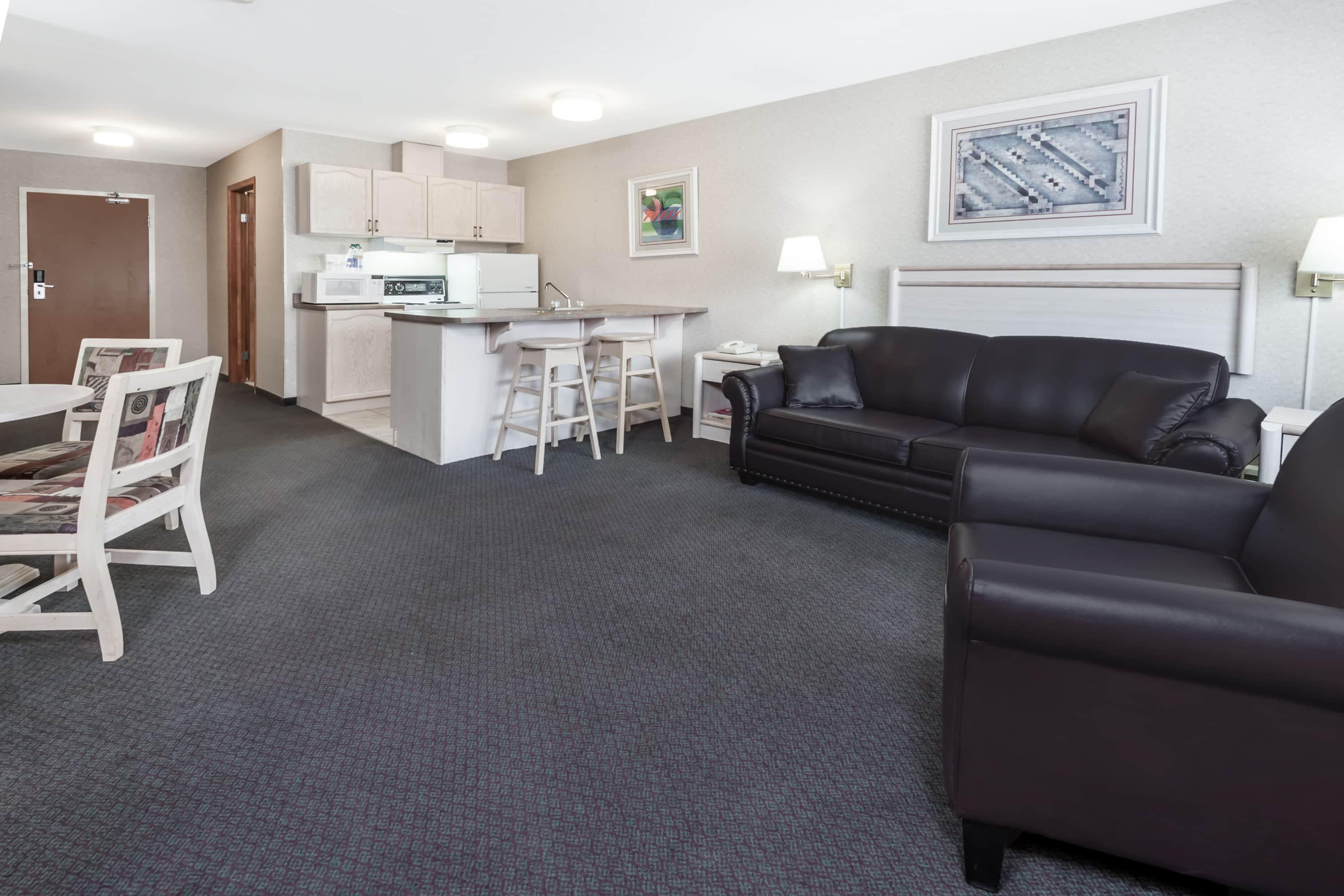 Ramada Stony Plain Hotel & Suites suite in Stony Plain, Alberta