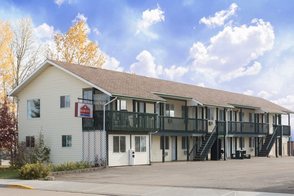 Exterior Of Ramada Limited Fort Nelson Hotel In British Columbia