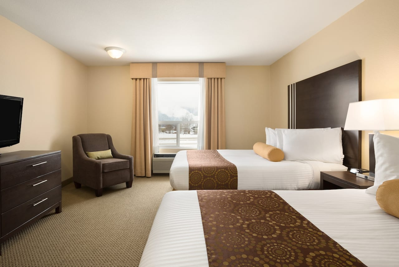 at the Ramada Limited Golden in Golden, British Columbia