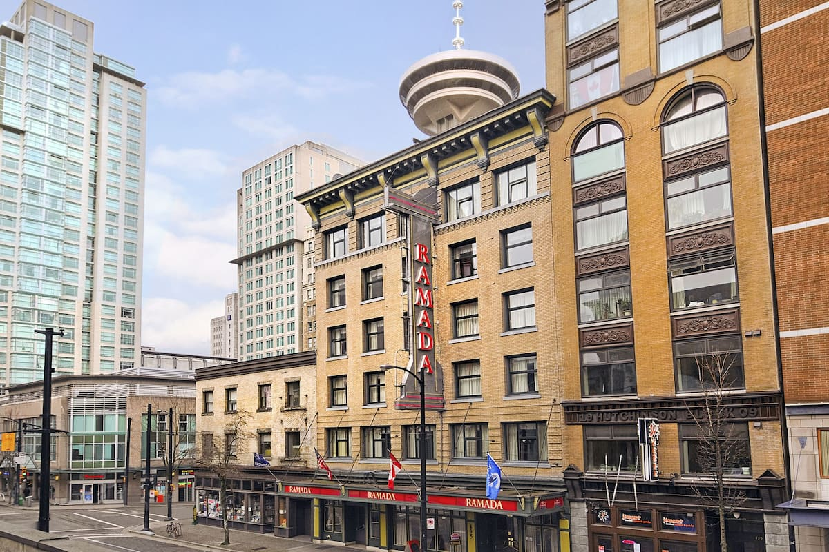 Exterior Of Ramada Limited Vancouver Downtown Hotel In British Columbia