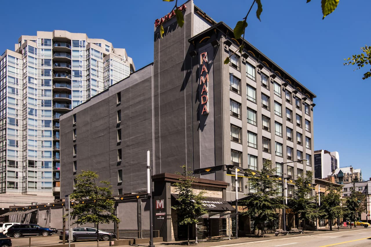 at the Ramada Vancouver Downtown in Vancouver, British Columbia