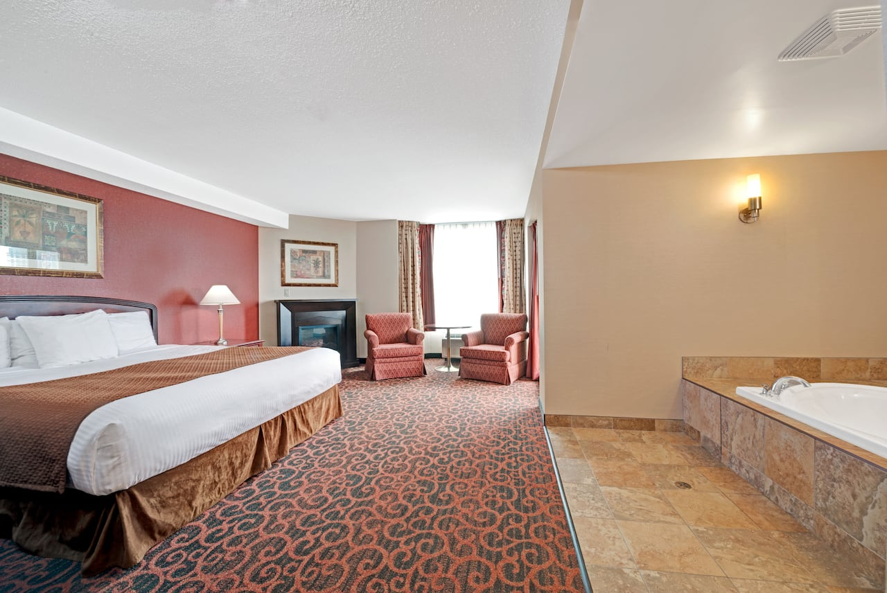 at the Ramada Niagara Falls/Fallsview in Niagara Falls, Ontario