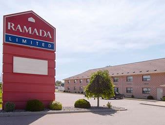 Ramada Limited Windsor near Charles H Wright Museum Of African American History