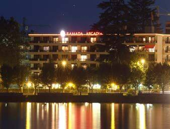 at the Ramada Arcadia Locarno in Locarno, Switzerland