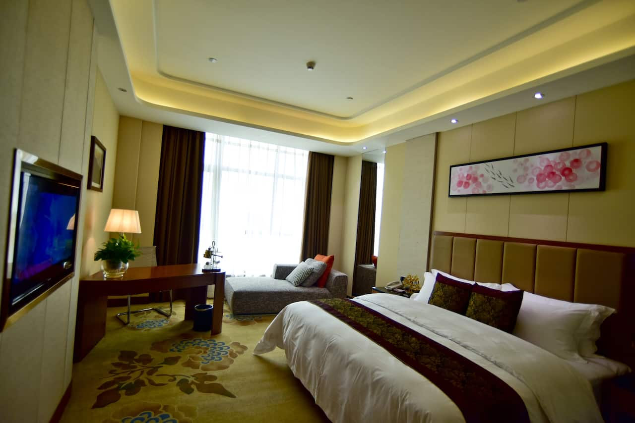at the Ramada Plaza Changsha East in Liuyang, China