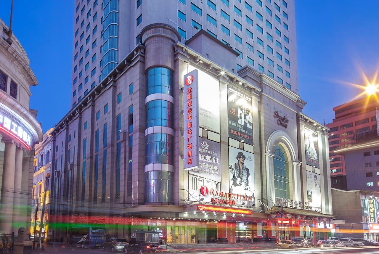 at the Ramada Plaza Shenyang City Center in Shenyang, China