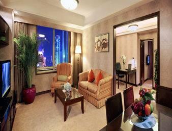 at the Ramada Plaza Tian Lu Hotel Wuhan in Wuhan, China