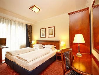 at the Ramada Plaza Berlin City Centre Hotel and Suites in Berlin, Germany