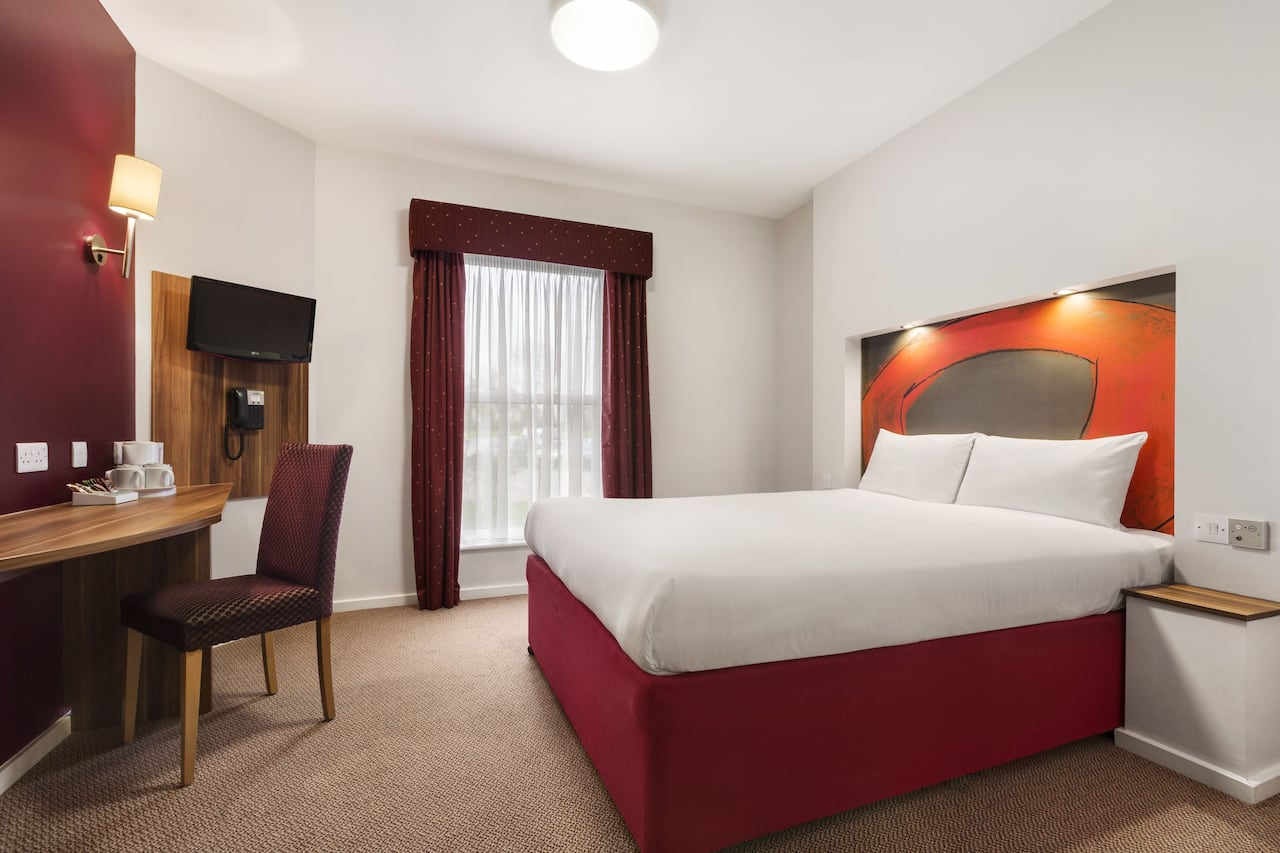 at the Ramada London Stansted Airport in Bishops Stortford, United Kingdom