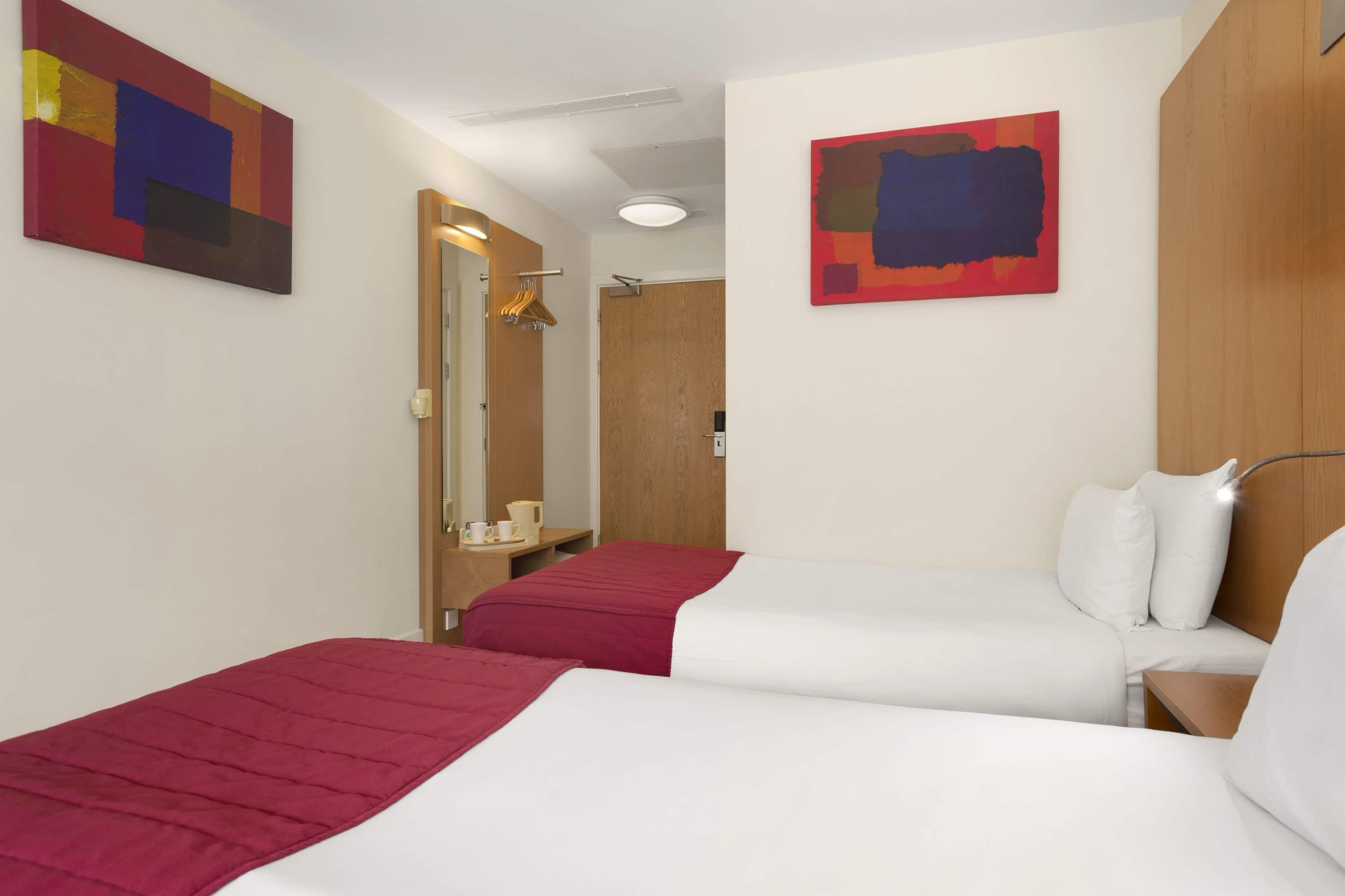 Guest room at the Ramada Encore Doncaster Airport in Doncaster, Other than US/Canada