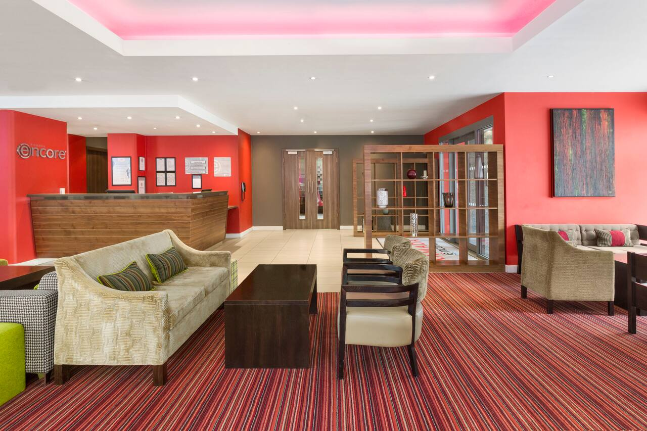 at the Ramada Encore Leicester City Centre in Leicester, United Kingdom