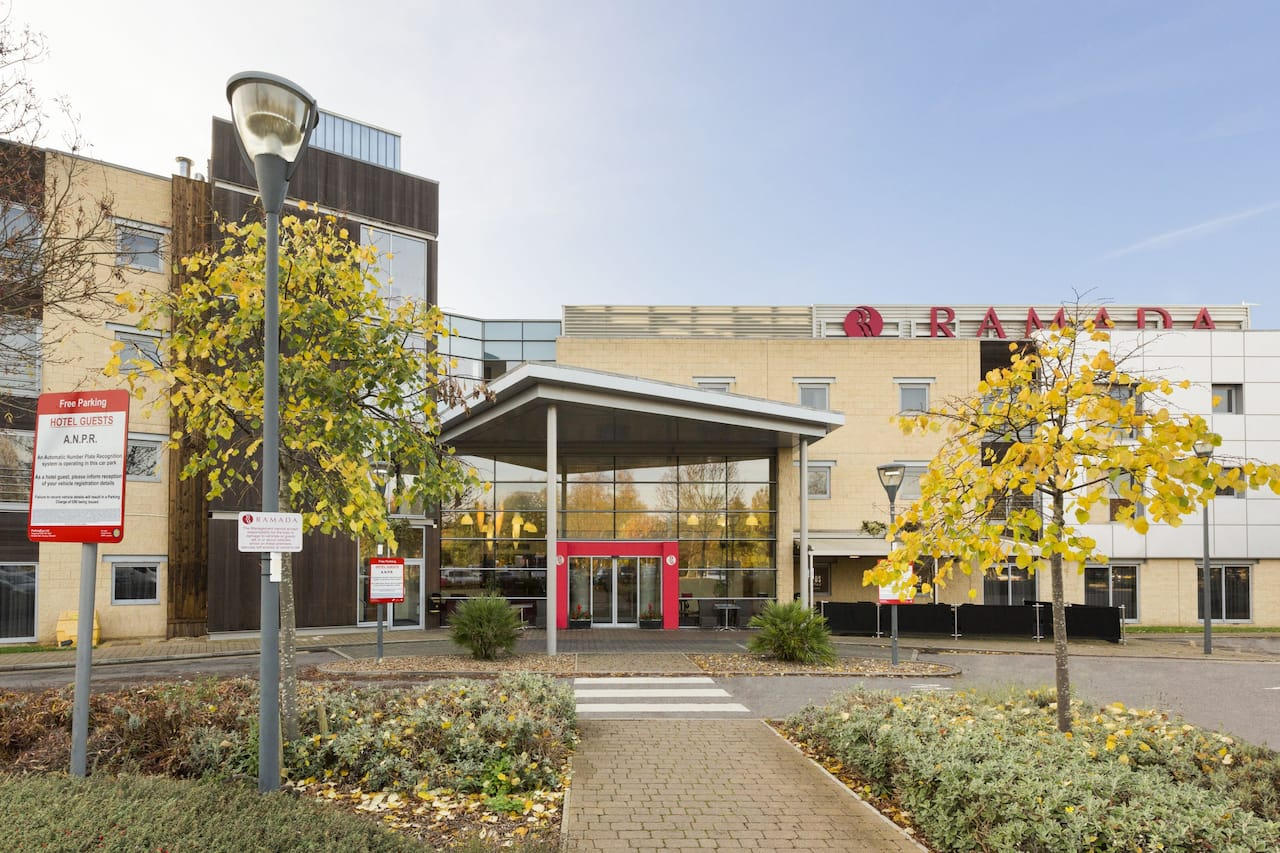 Ramada London North M1 in Chertsey England, UNITED KINGDOM