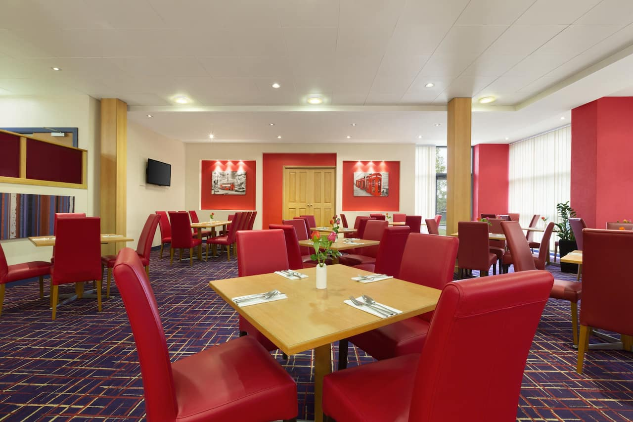at the Ramada London North M1 in London, United Kingdom