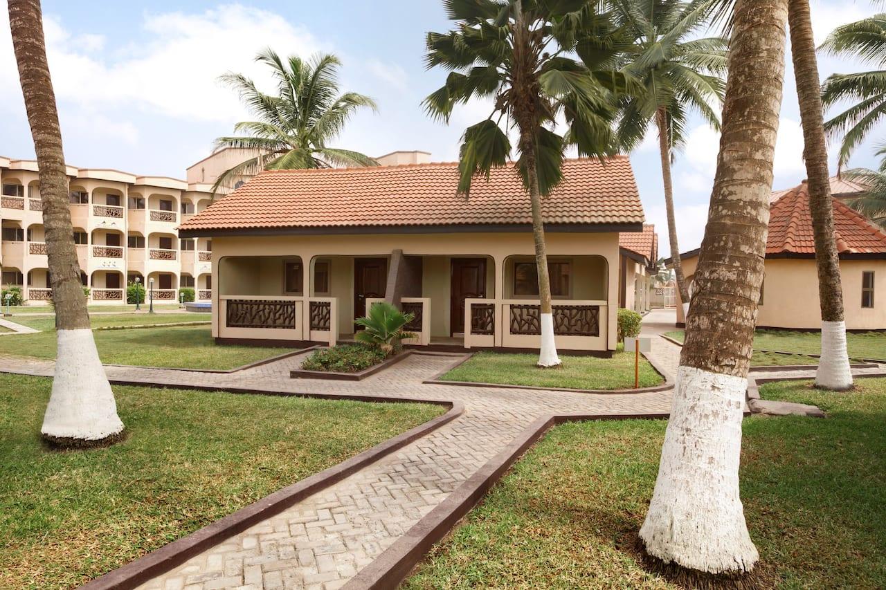 at the Ramada Resort Accra Coco Beach in Accra, Ghana