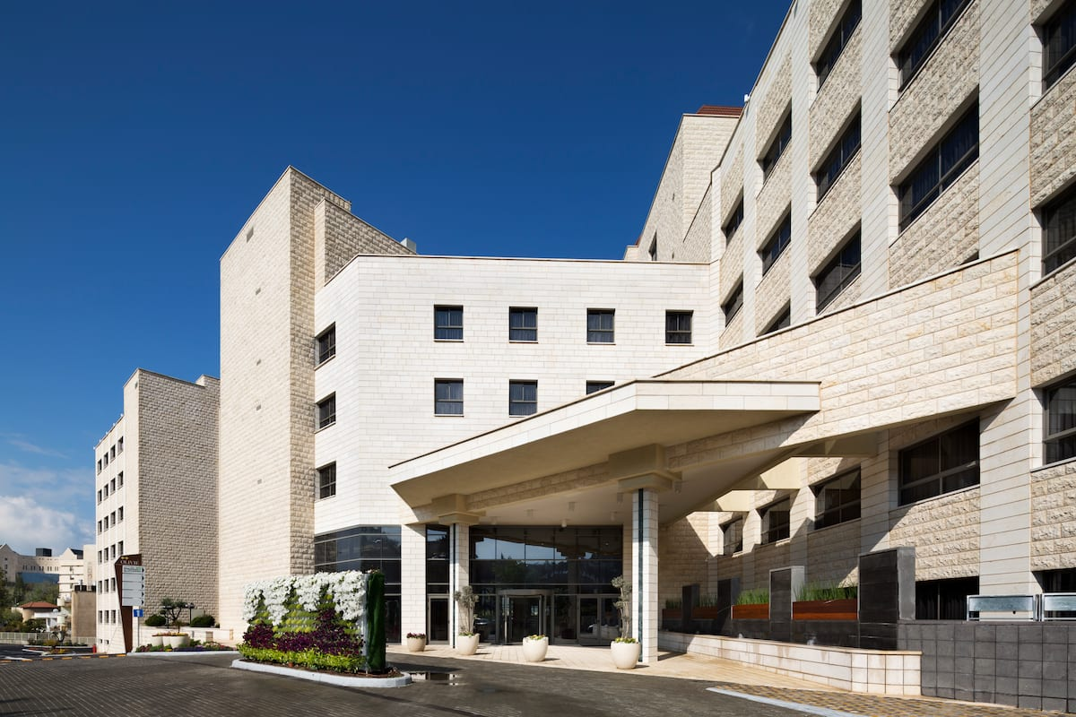 Exterior Of Ramada Nazareth Hotel In Other Than Us Canada