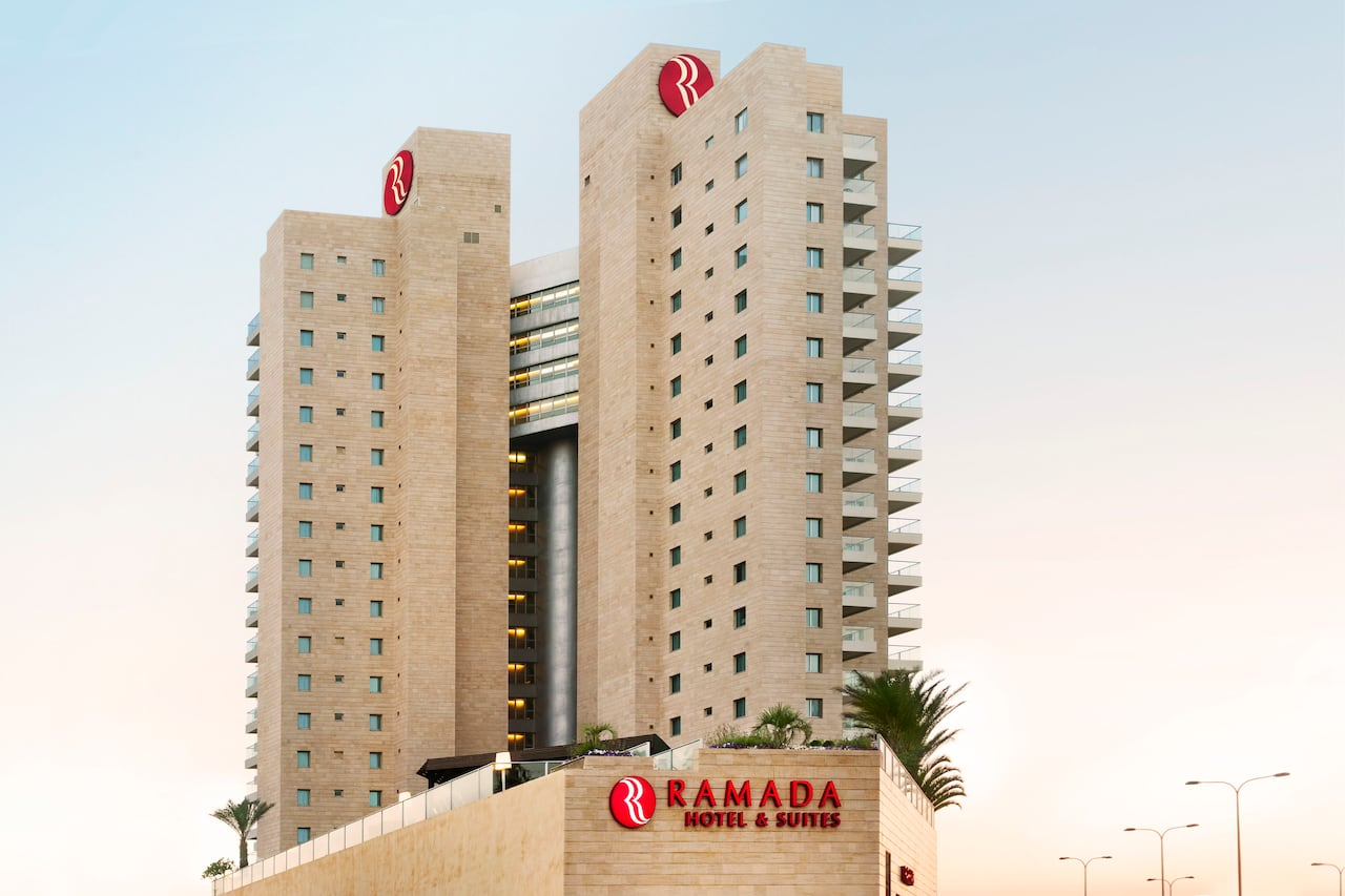 at the Ramada Hotel and Suites Netanya in Netanya, Israel