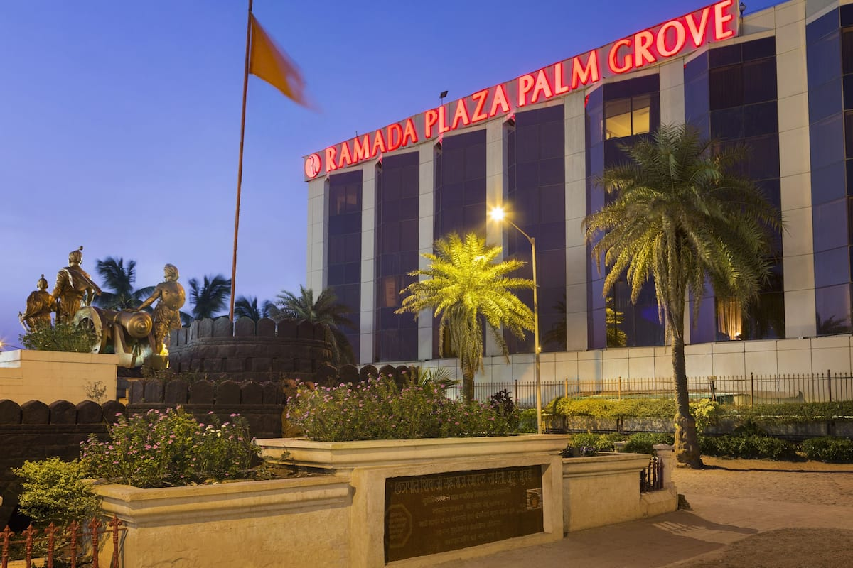 Exterior Of Ramada Plaza Palm Grove Hotel In Juhu Mumbai Other Than Us