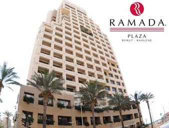 at the Ramada Plaza Beirut Raouche in Beirut, Lebanon