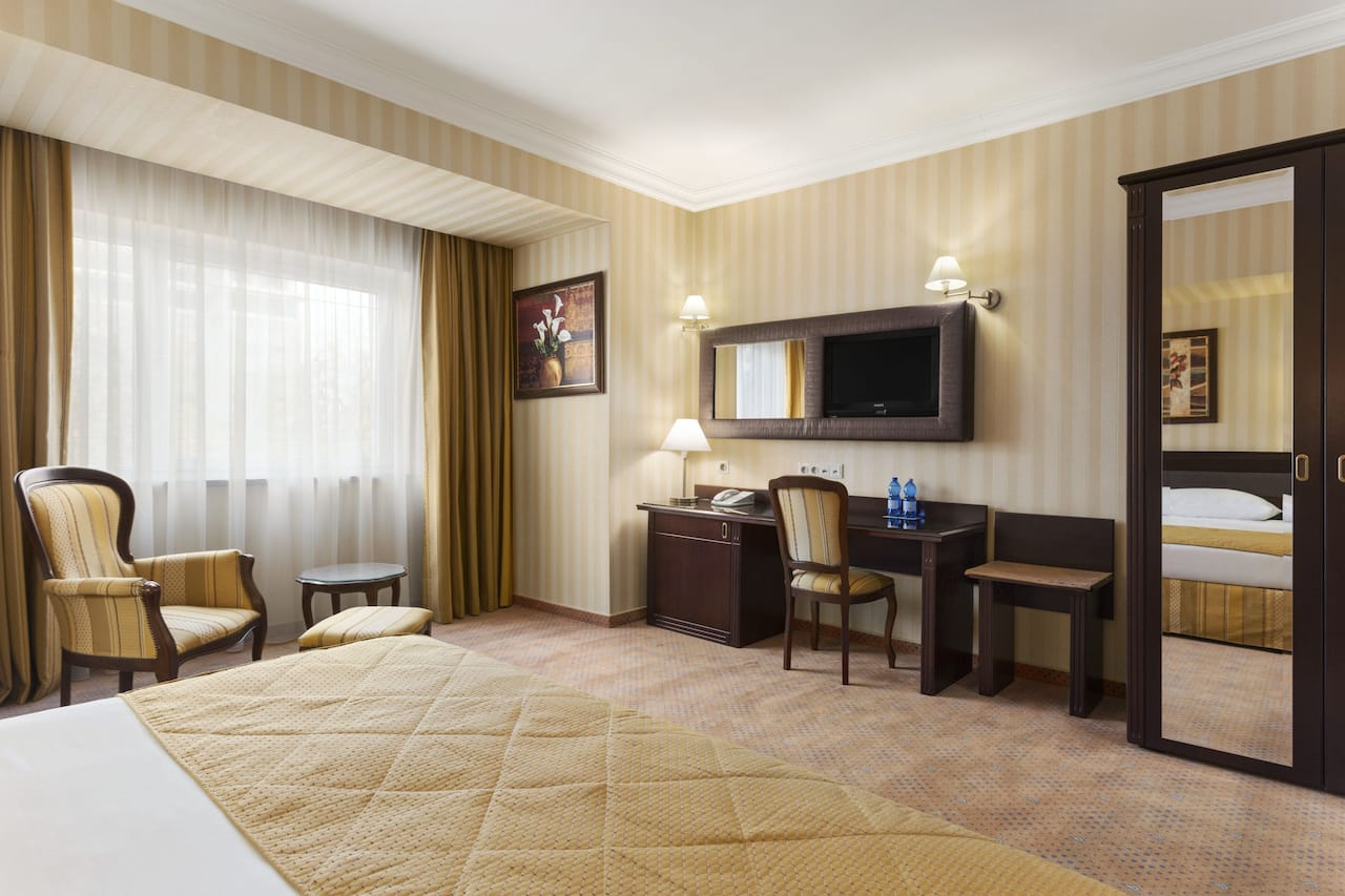 at the Ramada Hotel and Suites Bucharest North in Bucharest, Romania