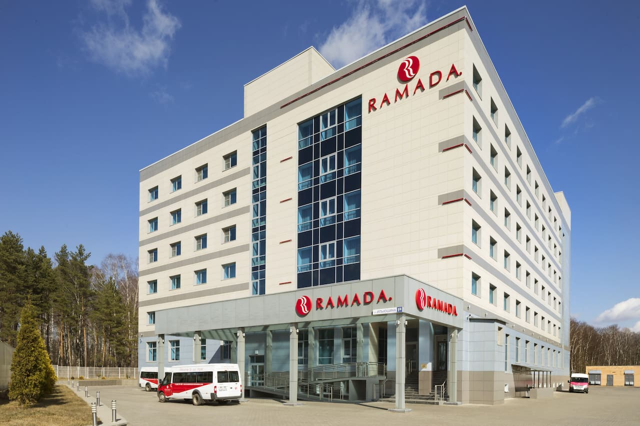 at the Ramada Moscow Domodedovo in Domodedovo, Russia
