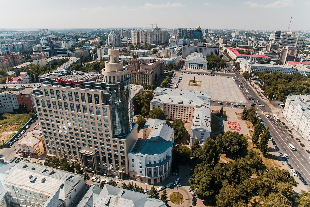 Ramada Plaza Voronezh City Centre in Voronezh, RUSSIA
