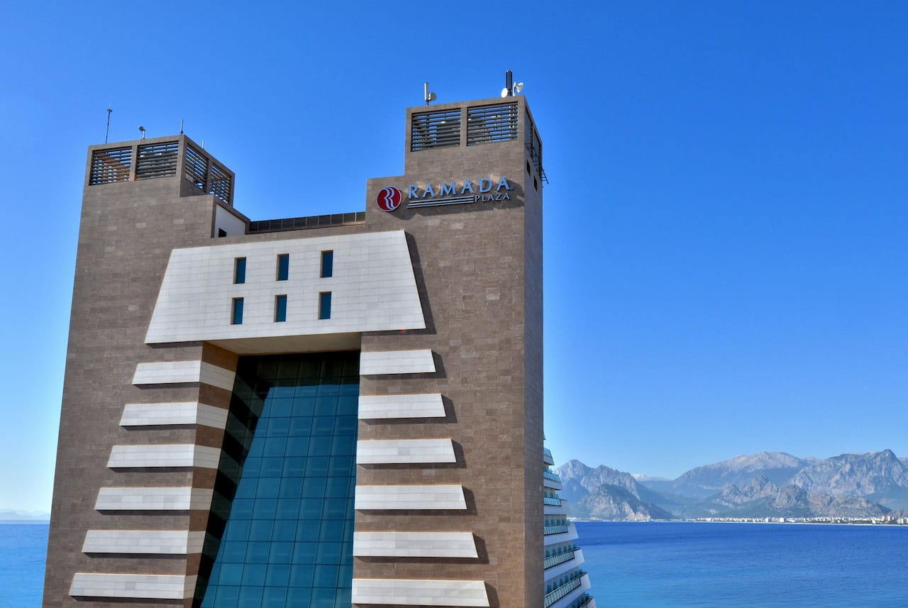at the Ramada Plaza Antalya in Antalya, Turkey