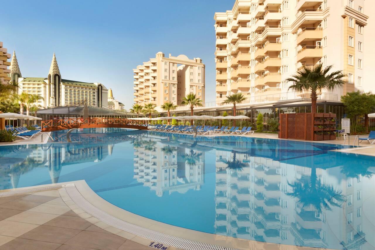 at the Ramada Resort Lara in Antalya, Turkey
