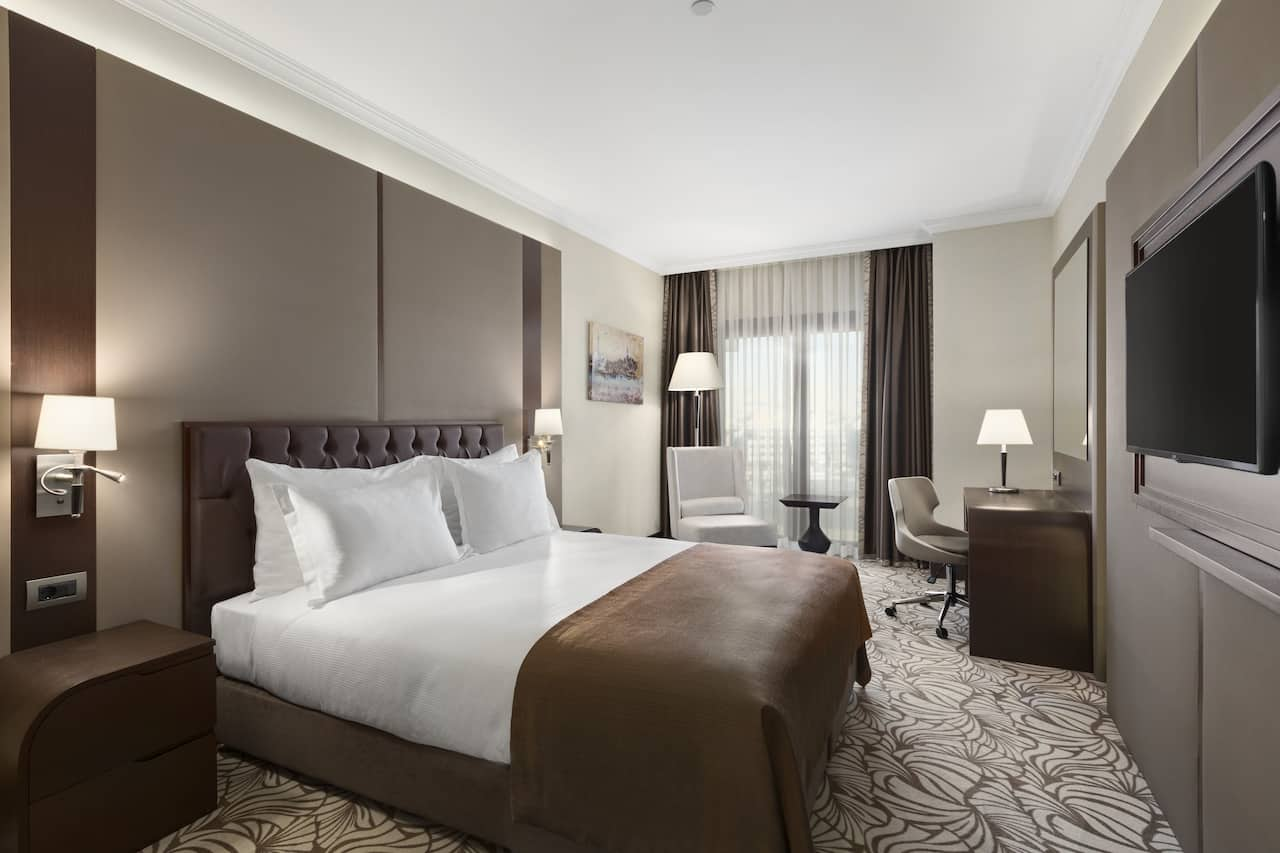 at the Ramada Hotel & Suites Istanbul Merter in Istanbul, Turkey