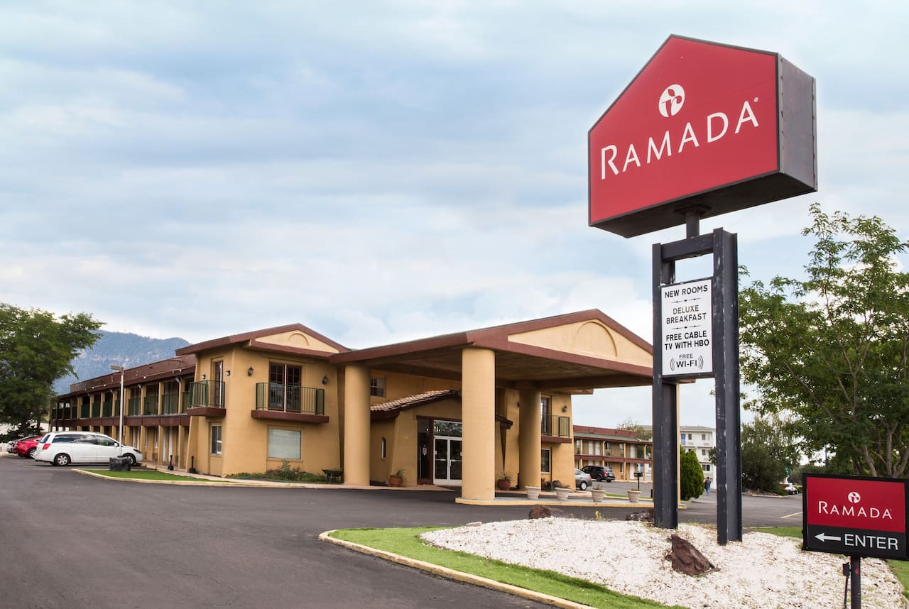 at the Ramada Flagstaff East in Flagstaff, Arizona