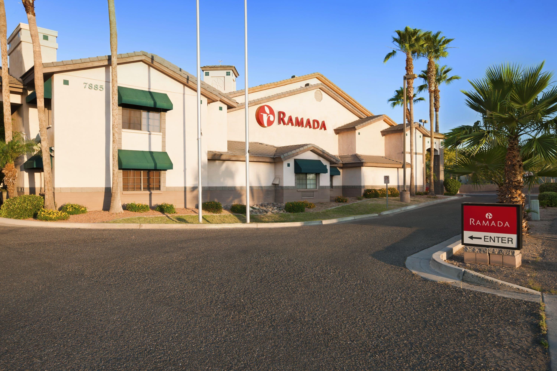 Affordable Exterior Of Ramada Glendale Hotel In Arizona With Hotels Near University Phoenix Stadium