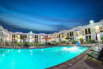 Pool At The Ramada Kingman In Arizona