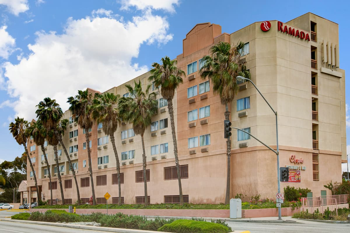 Exterior Of Ramada By Wyndham Hawthorne Lax Hotel In California
