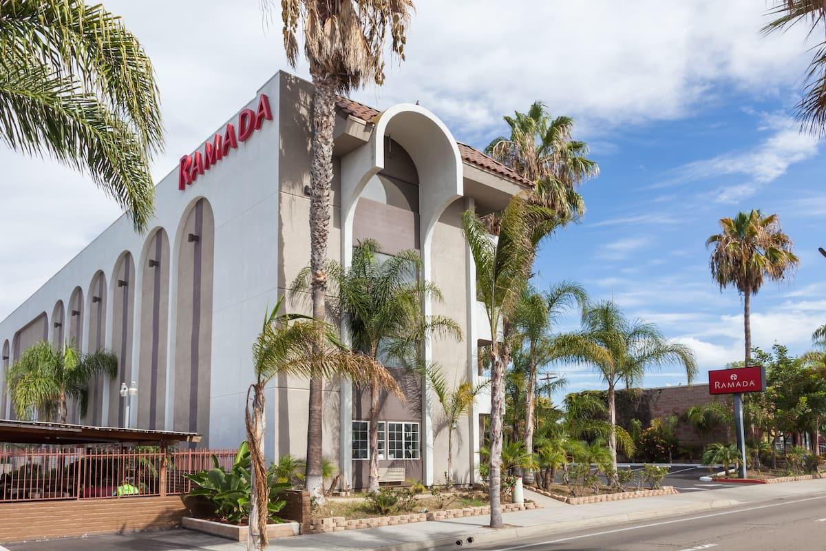 Exterior Of Ramada Oceanside Hotel In California