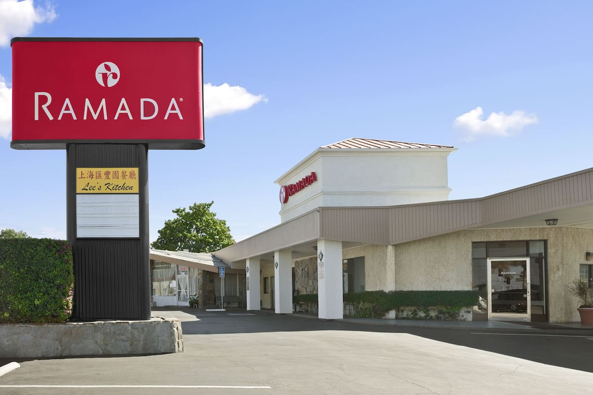 Exterior Of Ramada Torrance Hotel In California