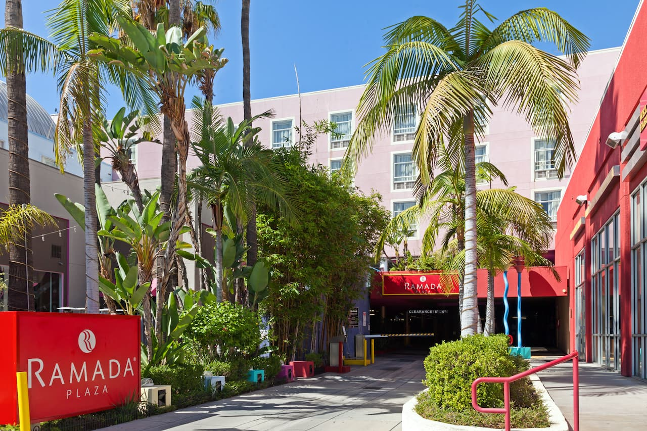 Ramada Plaza West Hollywood Hotel & Suites near Witzend Live