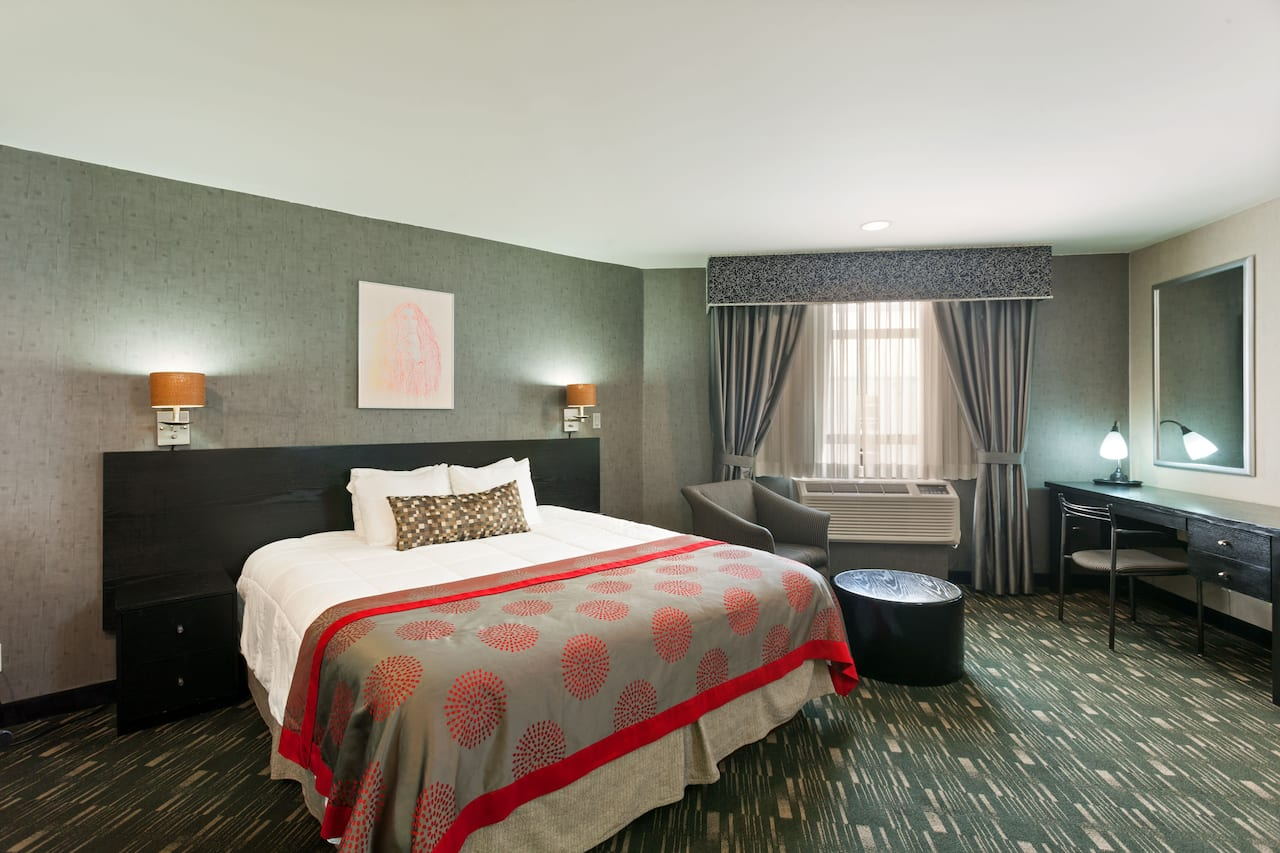 at the Ramada Plaza West Hollywood Hotel & Suites in West Hollywood, California