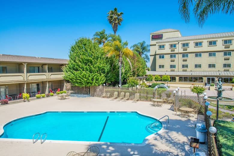 Pool At The Ramada By Wyndham West Sacramento Hotel And Suites In California
